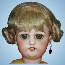 "French Market Nadaud 1279 S&H 12"" Bisque Head Doll wHairline 1896-on"