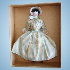 """7"""" China Doll in Presentation Box Germany 1890's-on"""