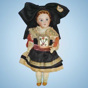 "6.5"" Unis France 301 Bisque Head Doll Original 1922-on"