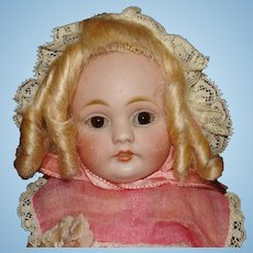 "8"" Kestner 143 Bisque Head Character Doll Germany 1909-on"