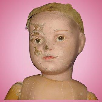 "18.5"" Schoenhut Character Doll 1911-on To Restore"