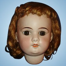 Later French Bisque Doll Head France 1915-on