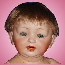 "14"" Hertel & Schwab Baby Character Doll Germany 1910-on"