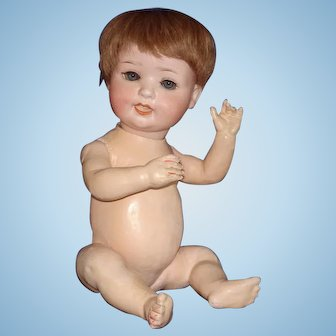 """13.5"""" Ernst Heubach Character Baby Doll Germany 1910-on"""