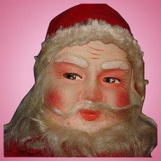 "18"" Vintage Mask Face Santa Claus Christmas Doll"