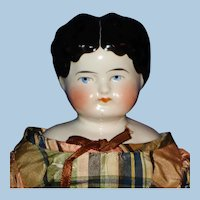 """1880's Hairstyle 14.5"""" China Doll Germany"""