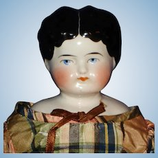"1880's Hairstyle 14.5"" China Doll Germany"