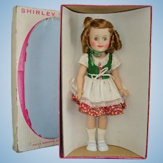 "15"" Vinyl Heidi Shirley Temple Doll in Box 1959-63"