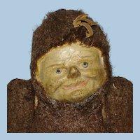 "9"" Dwarf Elf Face Bear Squeak Toy Novelty Doll"