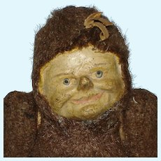 "9"" Dwarf Elf Face Bear Squeak Toy Novelty Doll"