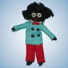 """NIADA Artist Irma Park 1 1/4"""" Golliwog Dollhouse Miniature Doll"""