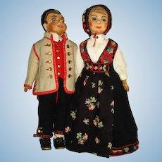 Early Norwegian Art Dolls Europe c1913-on