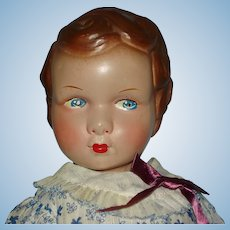 """14.5"""" Raleigh Style Composition Doll 1920s-on"""
