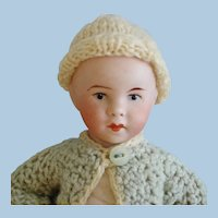"""6"""" SFBJ Twirp Type Bisque Head Character Baby Paris France 1910-on"""