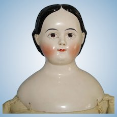 "23"" Greiner Style China Doll 1850s-60s Germany Beautiful Not Perfect"