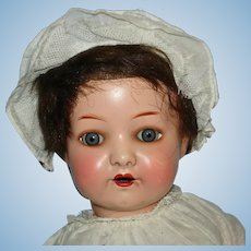 "Ernst Heubach 14"" Character Baby #320 Painted Bisque Doll Germany 1910-on"