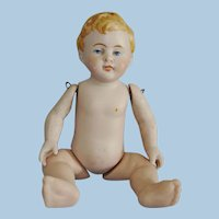 """5 1/4"""" Jointed All Bisque Baby Germany 1900-20"""