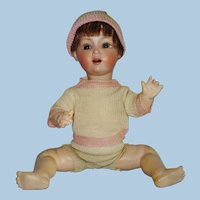 "11"" Schoenau & Hoffmeister Bisque Head Character Baby Doll Gemany 1910-on"