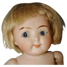 """6"""" Googly Eye All Bisque #218 Baby Doll to Restore Germany c1911-on"""
