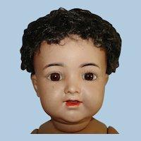"14"" Brown Kammer Reinhardt K*R 126 Character Baby Germany 1909"