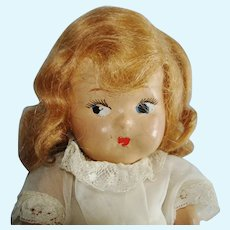 Vintage Toddles Composition Girl Doll Vogue 1937-on