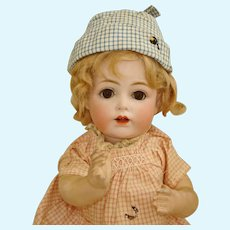 "11.5"" Kestner Character #257 Bisque & Composition Boo-Boo Baby Germany c1910"