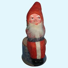 """Early 2 3/4"""" Seated Santa Claus Tagged Germany 1901-on"""