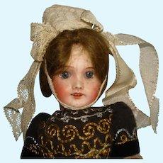 "8.5"" Bisque Head SFBJ 301 Paris Doll France 1899-on"