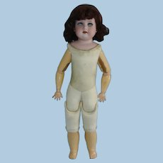 """19"""" Marseille 370 Bisque Head Doll on Nice Jointed Kid Body Germany 1885-on"""