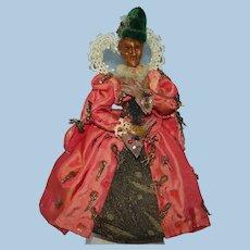 Vintage Artist Peter McAndrew Elizabeth I Handmade Figure Doll England 1953
