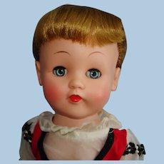 "15.5"" Original Patty Jane HP & Vinyl Walker Doll With Hang Tag Doll Bazaar 1950s"