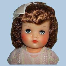 """19"""" All Original Horsman Fairy Skin Miracle Hair Doll & Hang Tags 1951-59"""