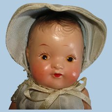 """8.5"""" Dionne Quintuplet Competitor Composition Toddler Doll 1930s-on"""