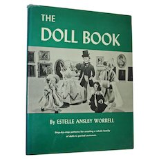 """The Doll Book"" by Estelle Ansley Worrell Hardcover Van Nostrand Reinhold 1966"