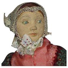 Birte Tage Hansen Creche Clay Doll Denmark 1950s - Red Tag Sale Item