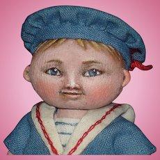 Susan Fosnot Noah Clothespin Doll 2004 Rare!