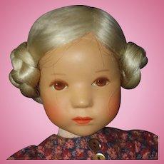 Kathe Kruse Natalie 25H Daumlinchen Doll in Box Germany 1981-82