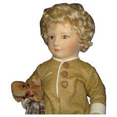 R John Wright Michael Babes in Toyland Series II Cloth Doll 1984-85