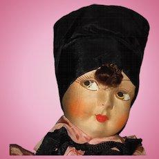 Art Deco Lingerie Bag Boudoir Doll Novelty
