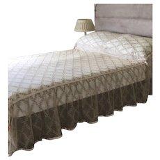 Fabulous 1920's lace bedspread
