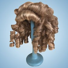 Vintage wig with ringlets 12""