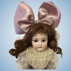 Kestner Dep 154 shoulder head doll leather body