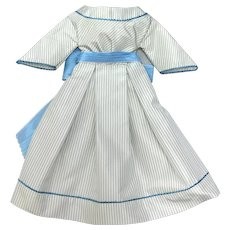 Simple 1860's day dress - Huret style