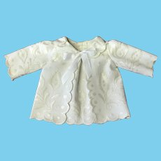 Hand embroidered cream Jacket