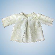 Hand embroidered cream Jacket