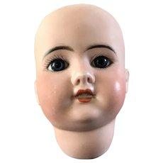 SFBJ Jumeau Head with blue paperweight eyes
