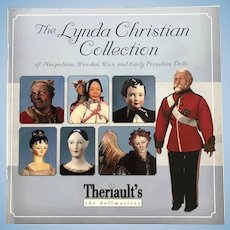 Book - Neapolitan,  Wooden, Wax and Early Porcelain Dolls - Theriaults
