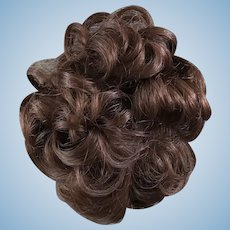 "Vintage short curly wig 10-11"" head"