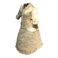 """Beautiful 2 piece costume for a 13"""" French poupee"""