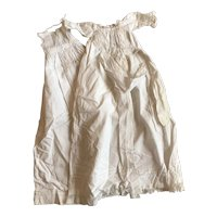 Antique baby doll gown and petticoat